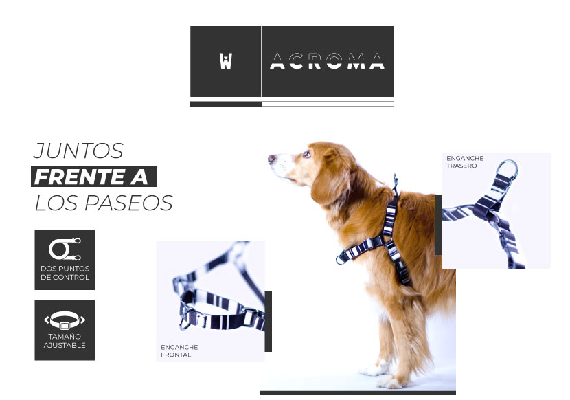 Ficha Arnes Non Pull Acroma Wauke