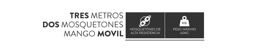 Correa 3 Metros Acroma Wauke